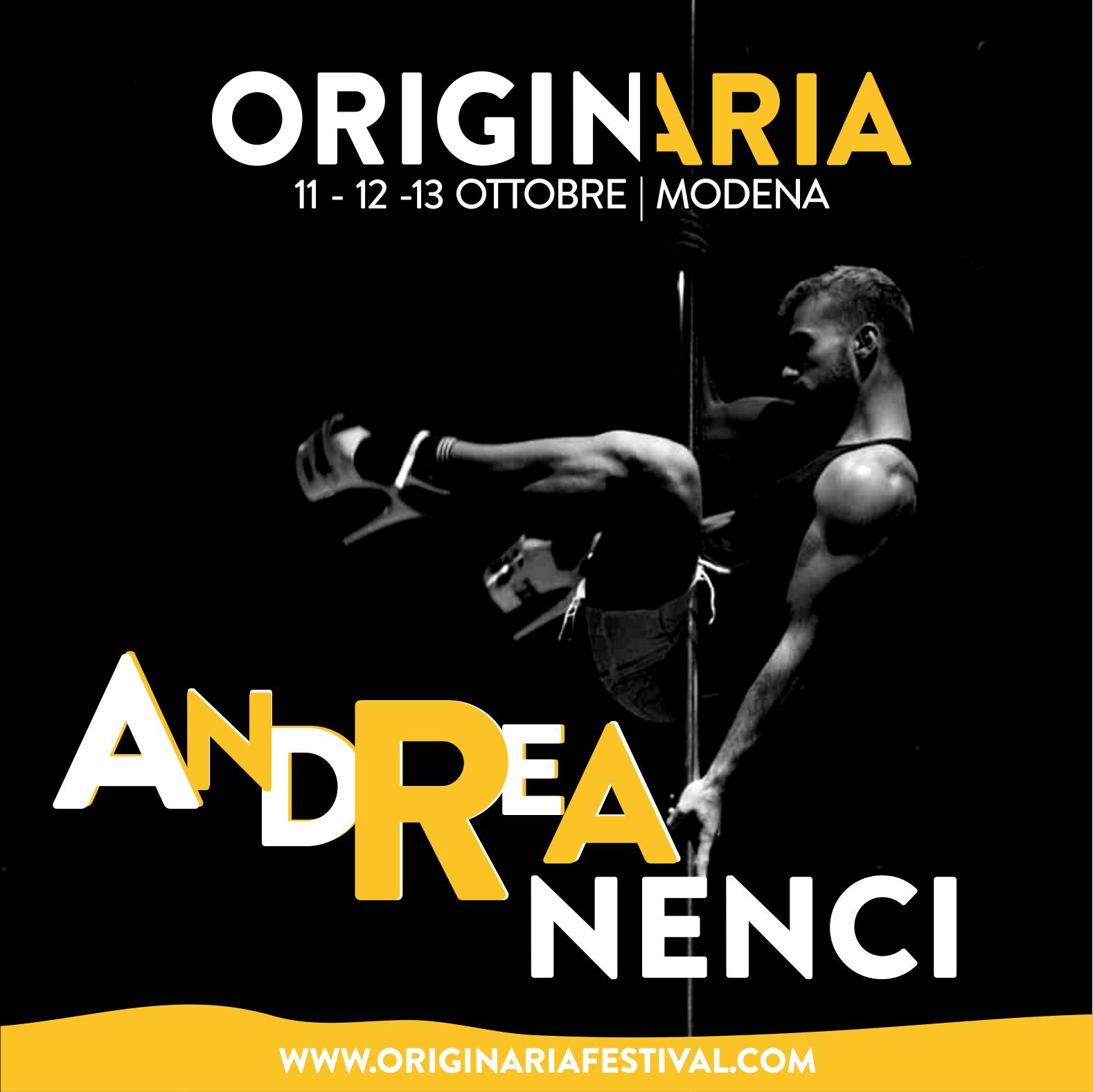 Andrea Nenci OriginAria Festival