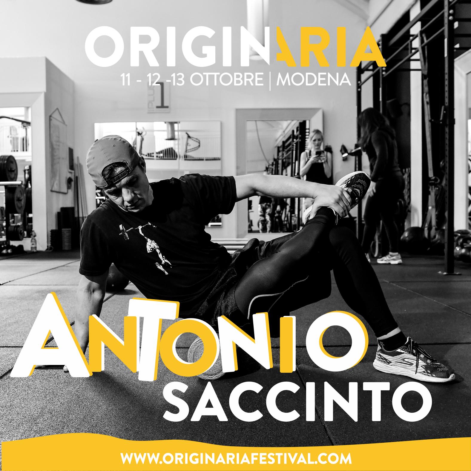 Antonio Saccinto OriginAria Festival