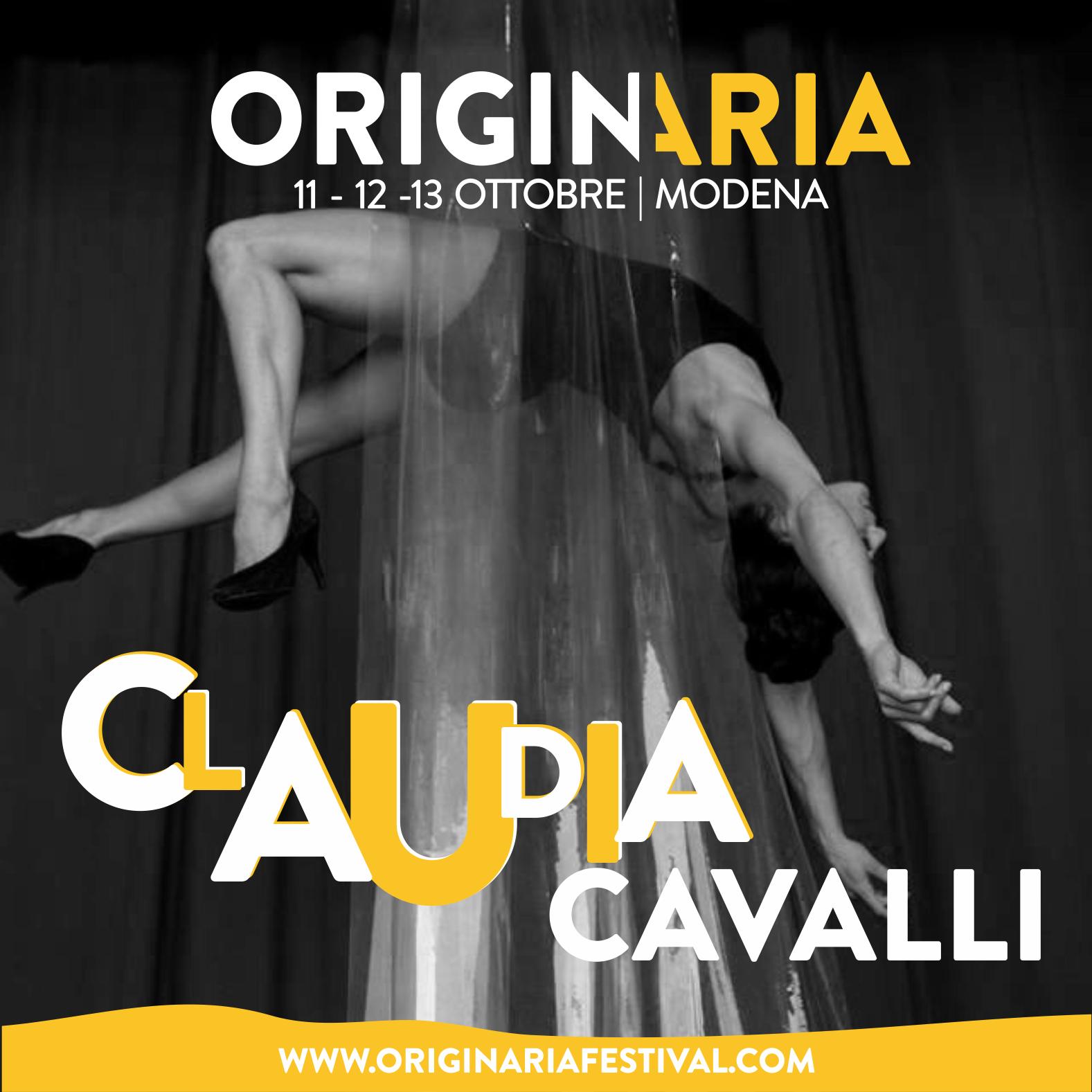 Claudia Cavalli OriginAria Festival