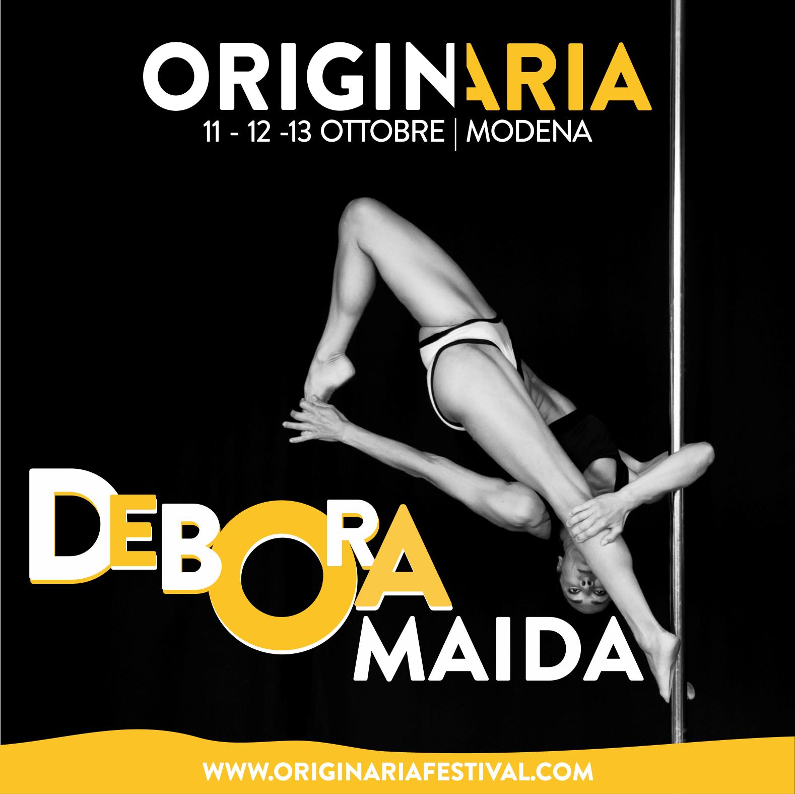 Debora Maida OriginAria Festival