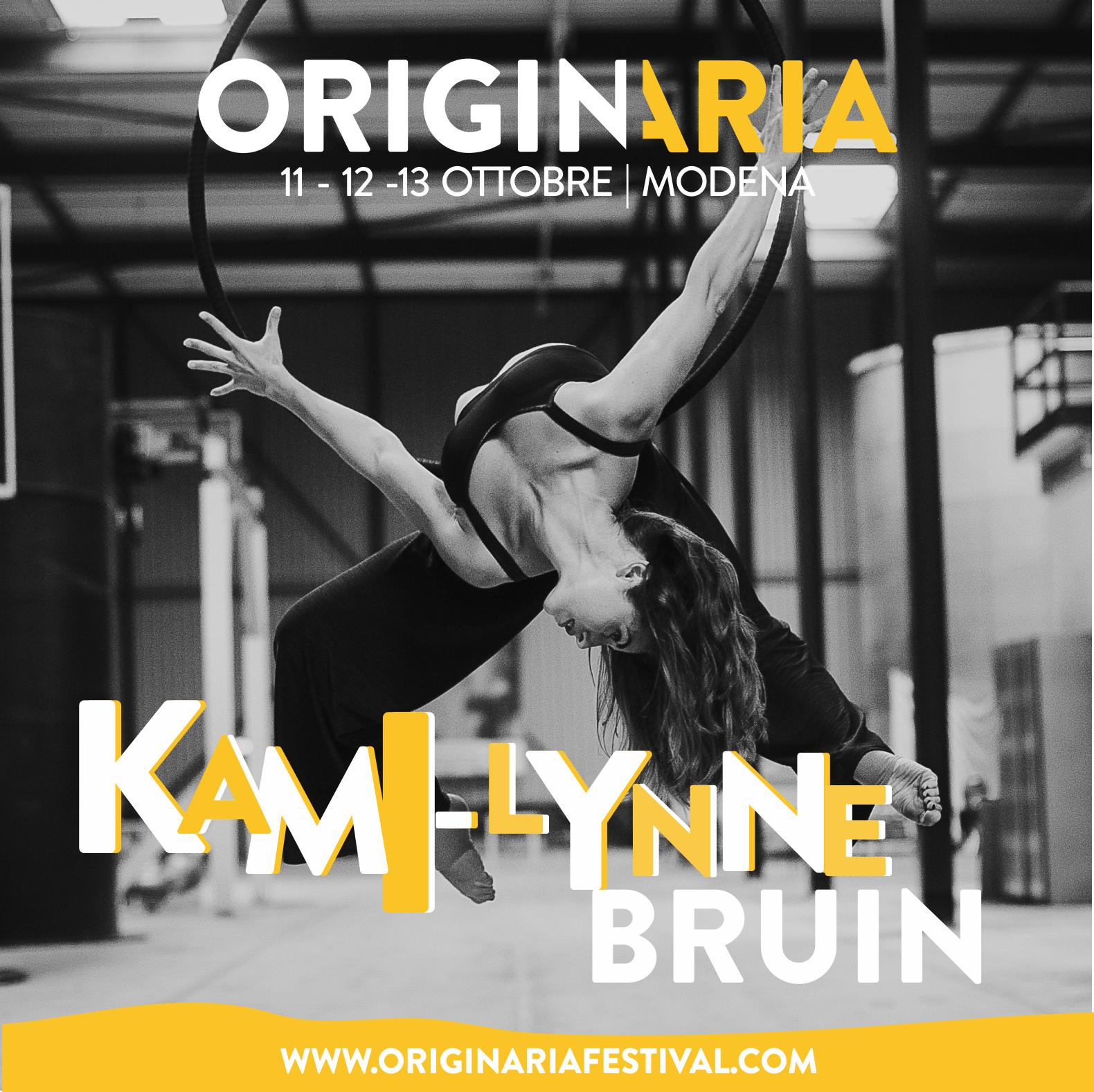 Kami-Lynn Bruin OriginAria Festival