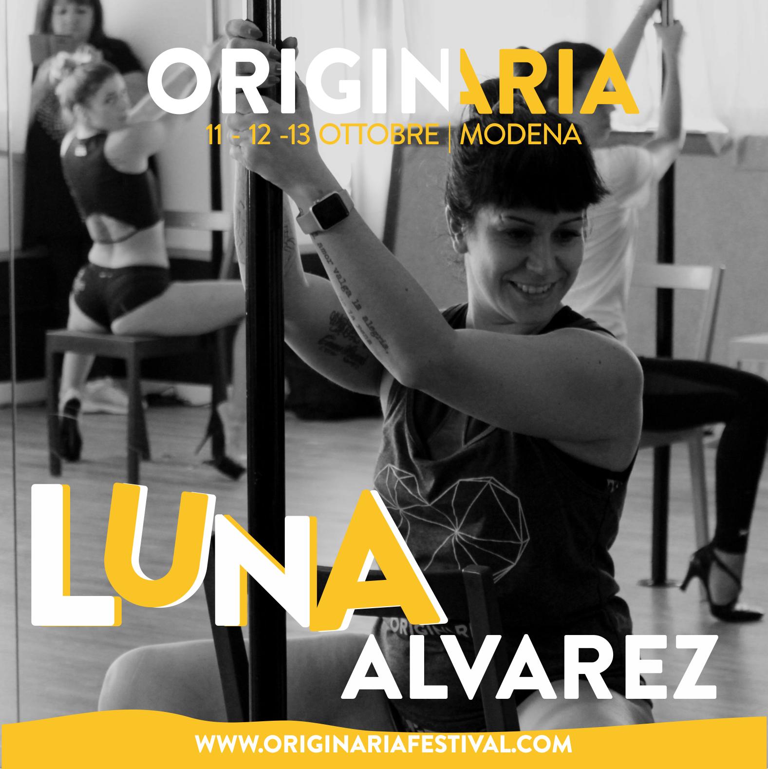 Luna Alvarez OriginAria Festival