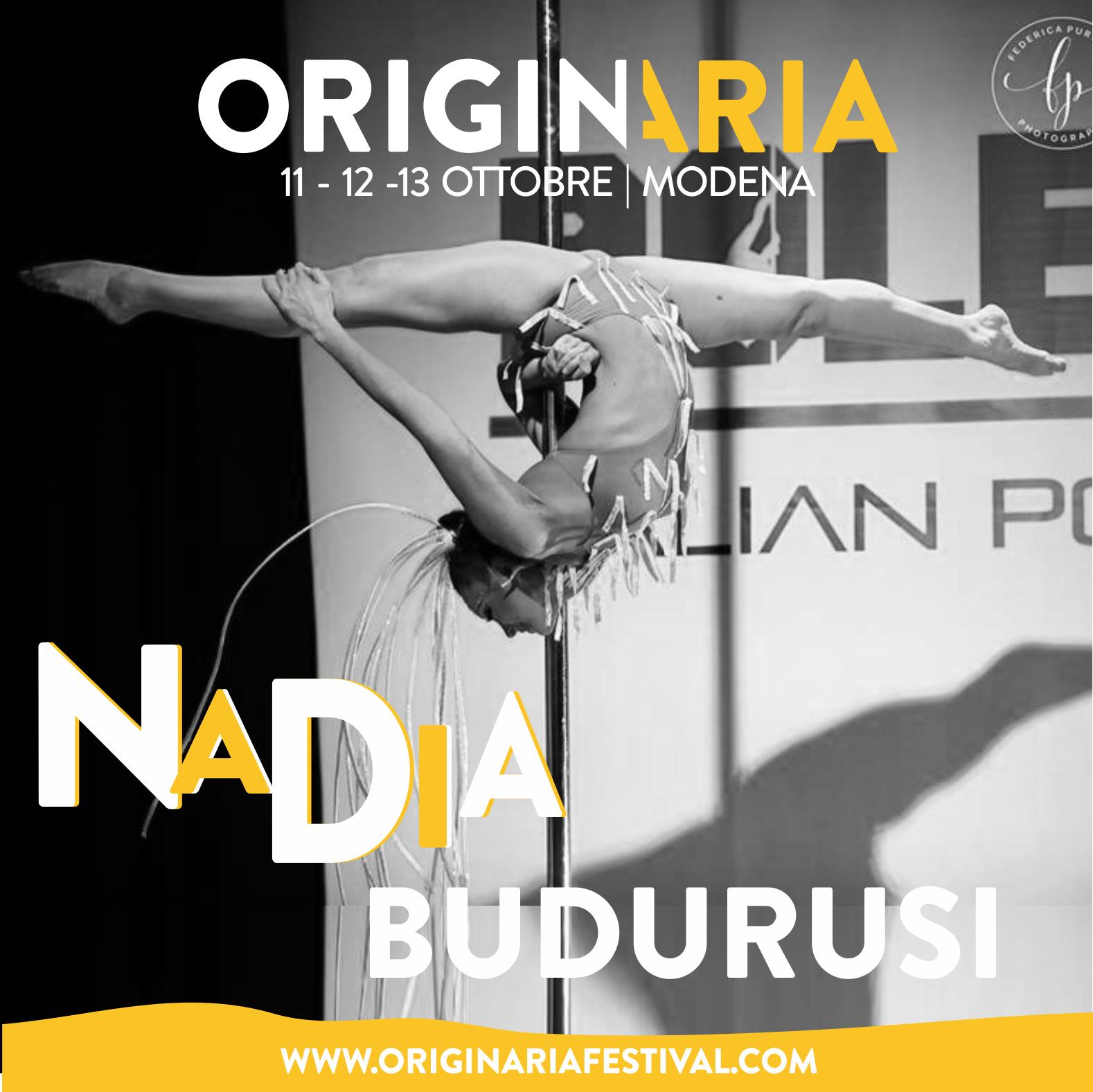 Nadia Budurusi OriginAria Festival